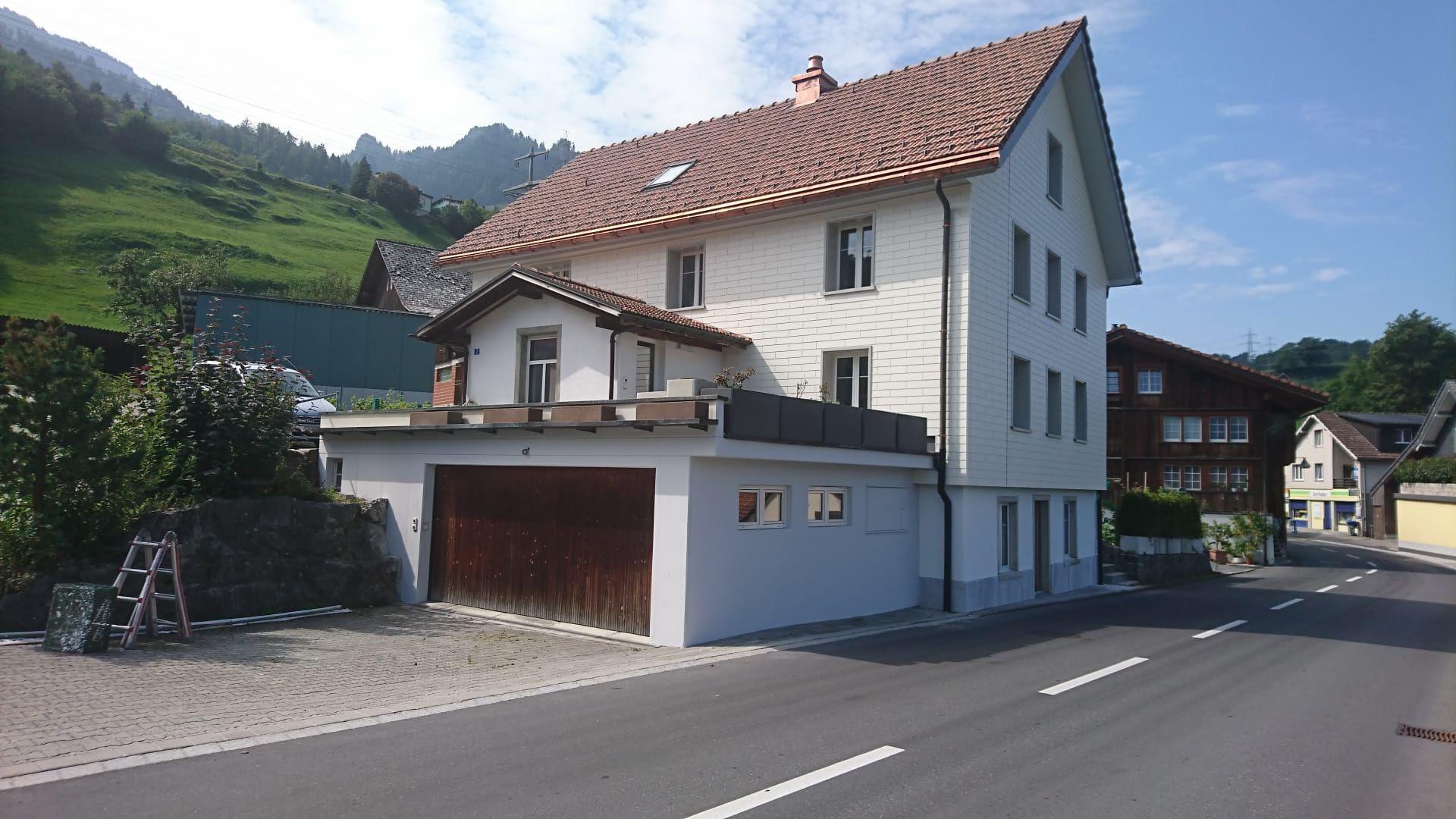 Einfamilienhaus mit grossem Garten