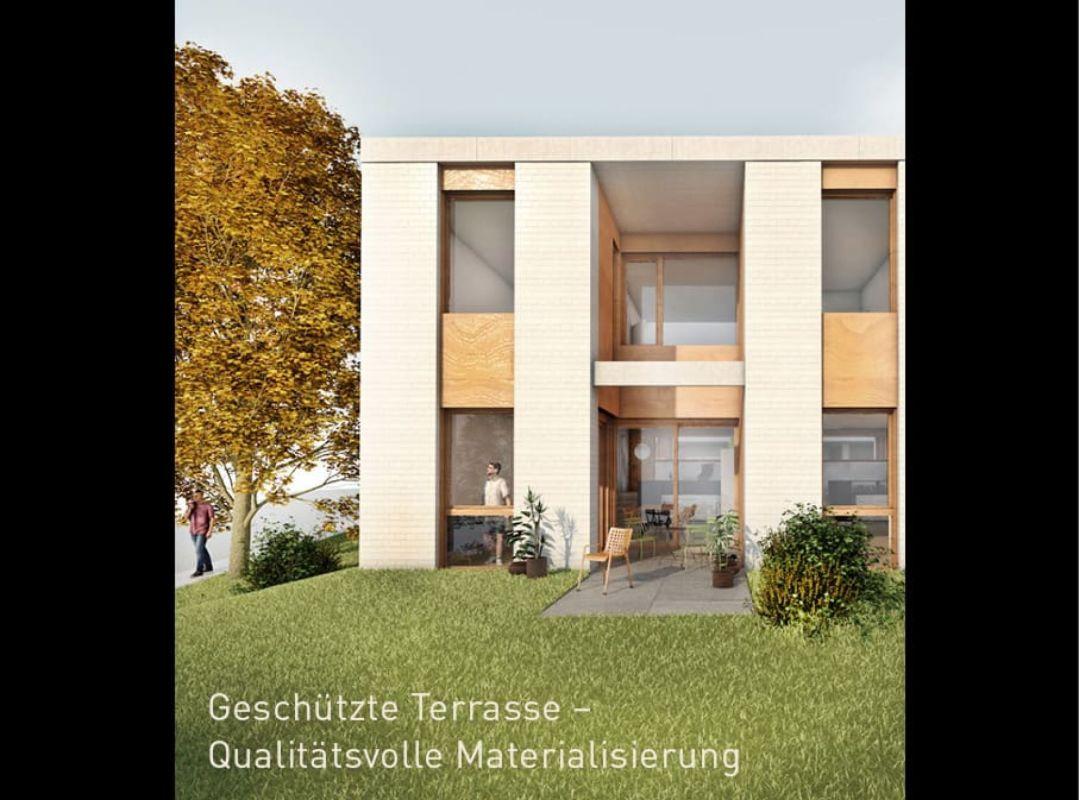 Modernes 5.5-Zimmer-Reiheneinfamilienhaus