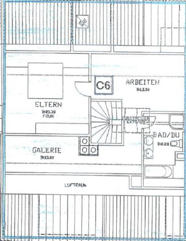 Helle 5.5-Zimmer-Maisonette-Wohnung