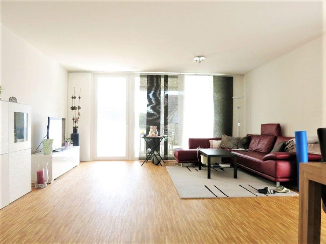 3.5-Zimmerwohnung mit zwei Nassräumen und grossem Balkon