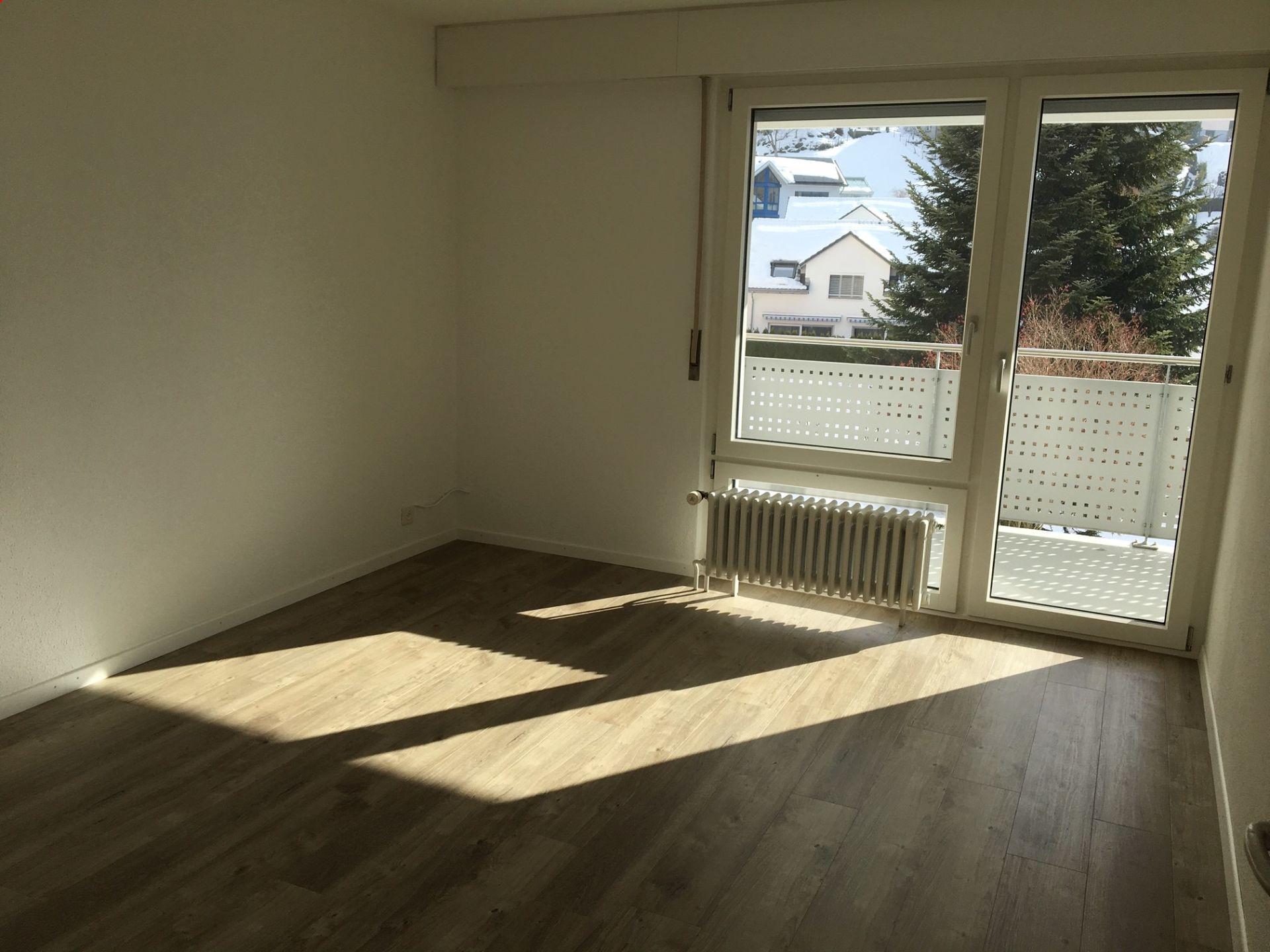 Grosszügige, renovierte Wohnung mit Balkon