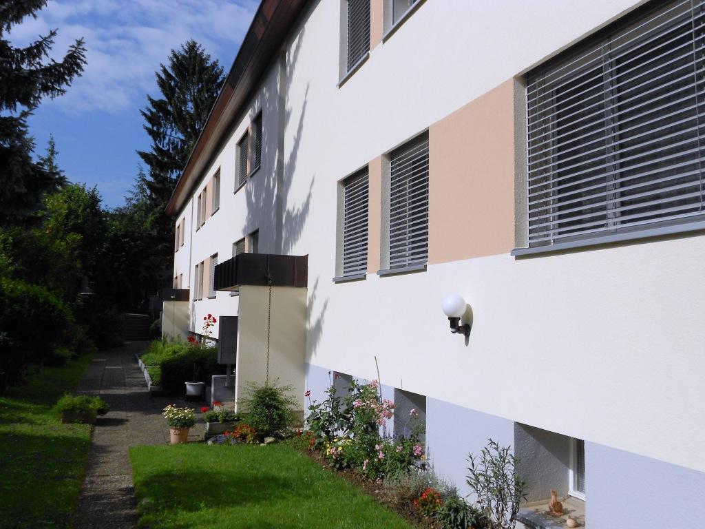 Miete: gepflegte Wohnung im Grünen