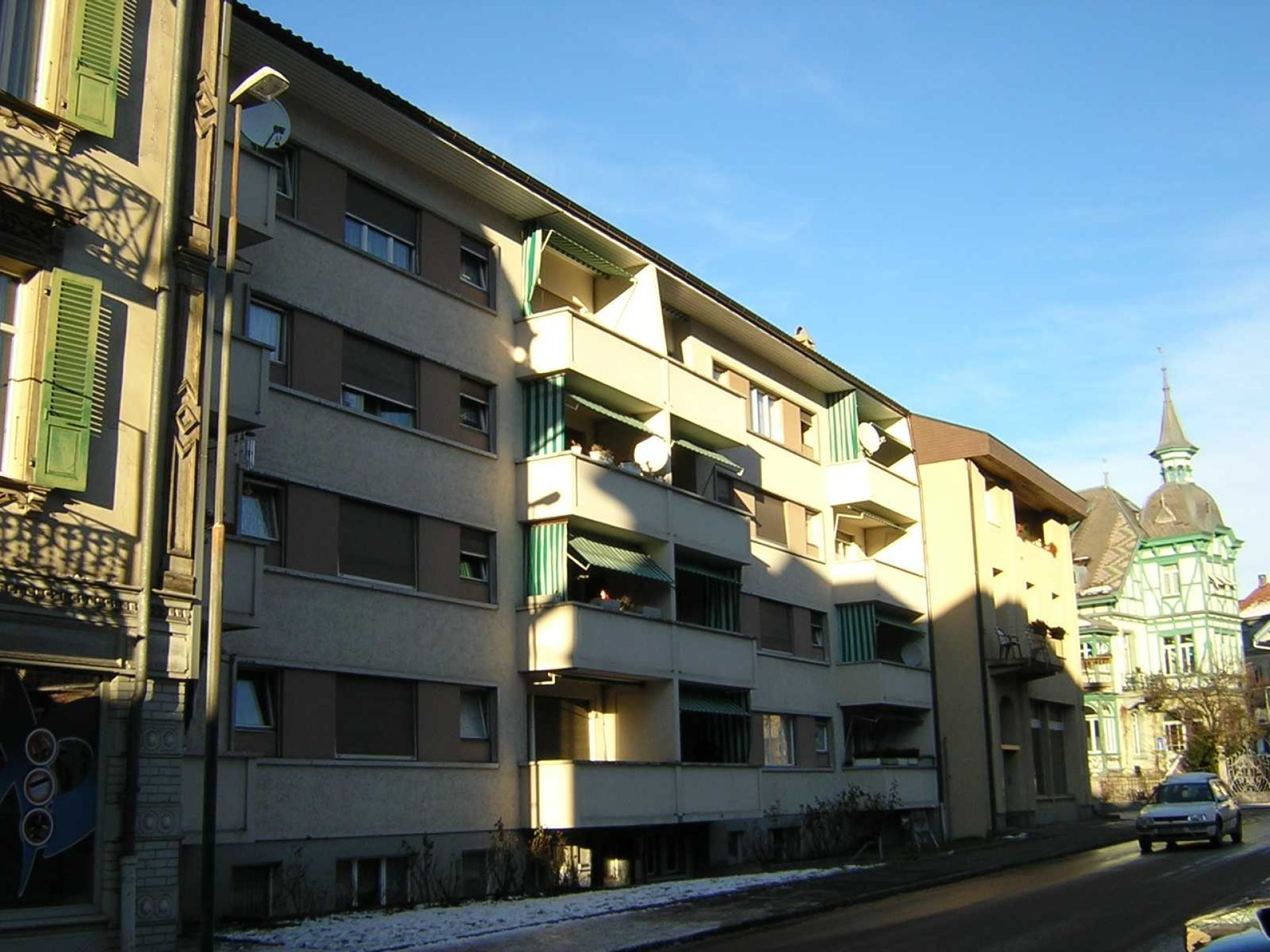 Miete: Möblierte Wohnung im Zentrum