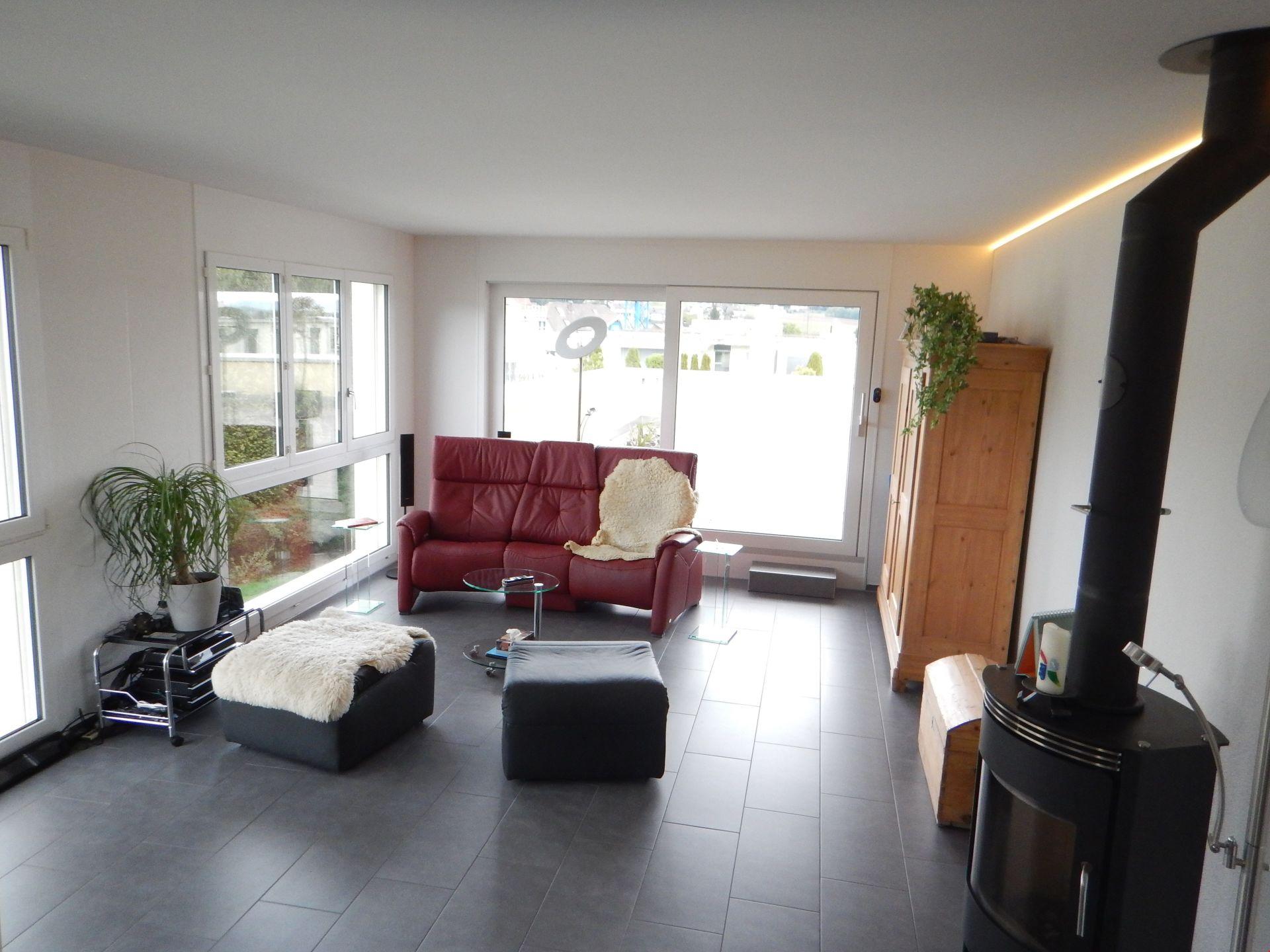 Kauf: Attikawohnung mit jeglichem Komfort und überaus grossen Terrassen