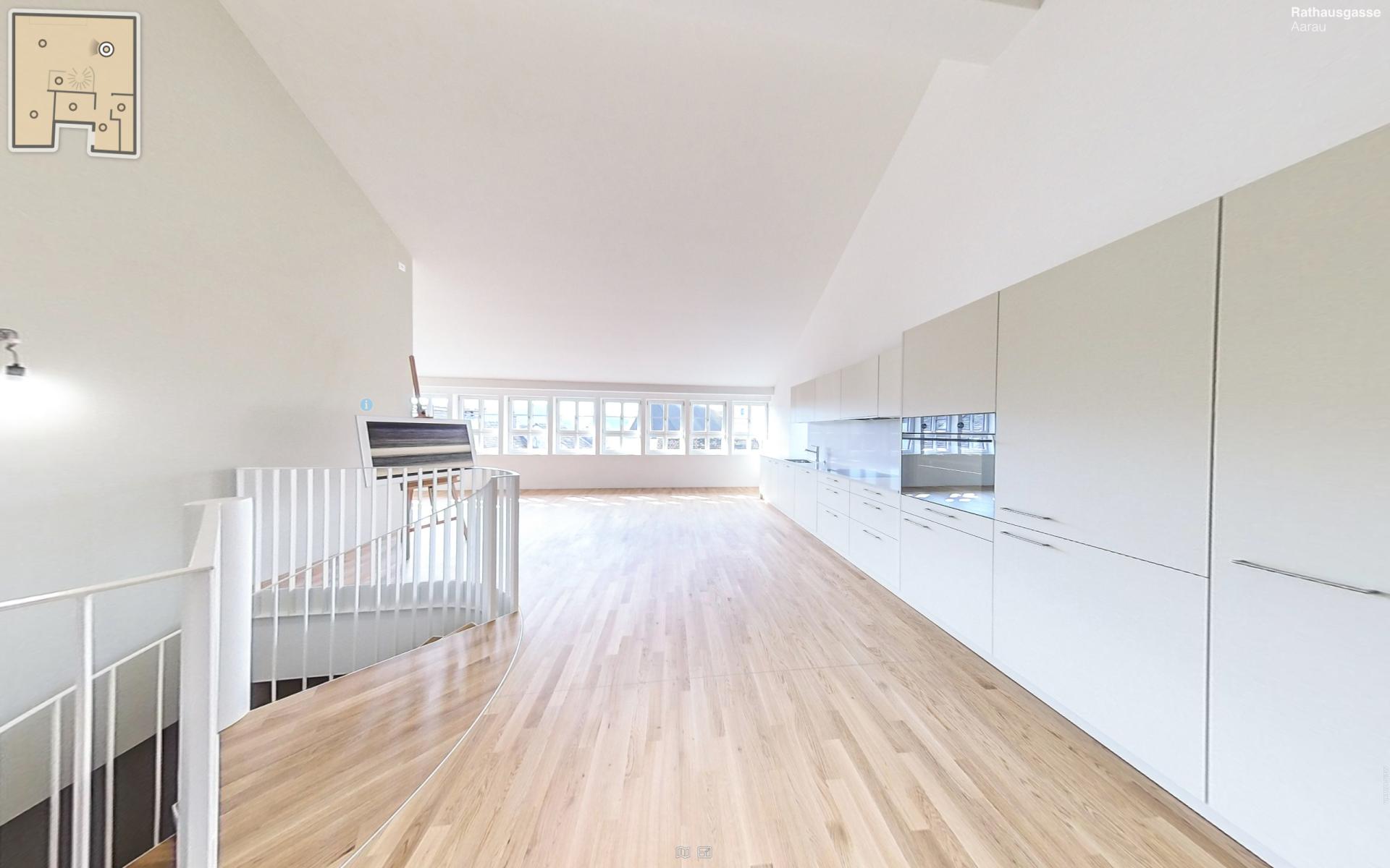 Loft-Wohnung mit einzigartigem Altstadt-Überblick