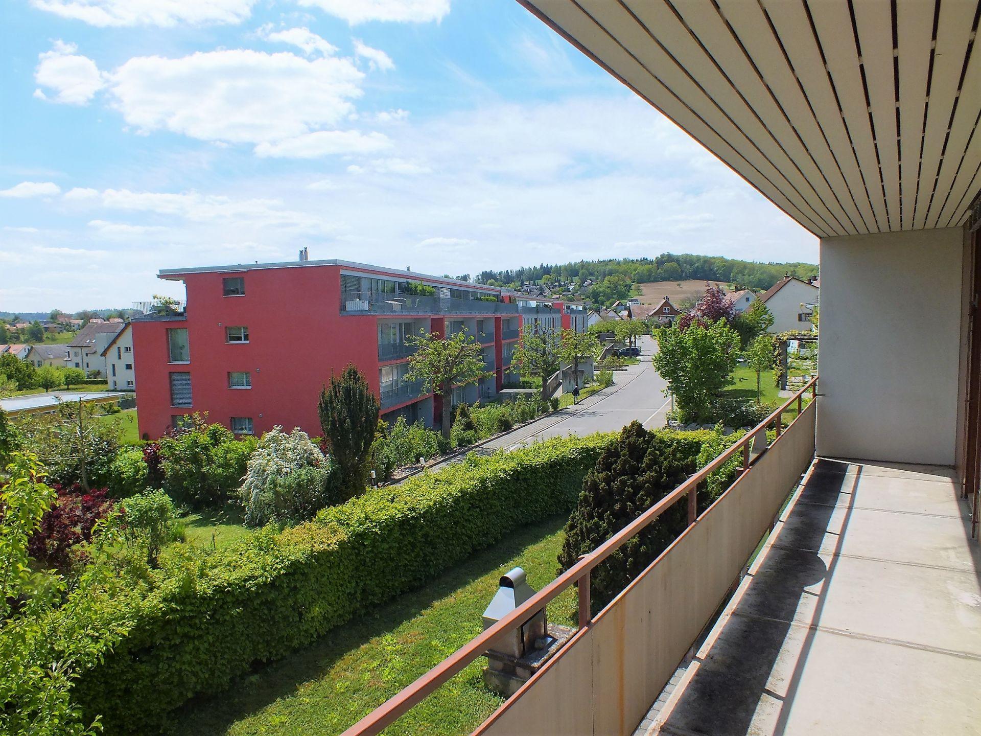 Balkon im Obergeschoss