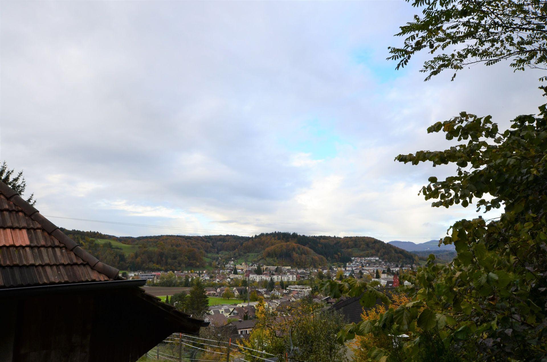 Aussicht ab Terrasse