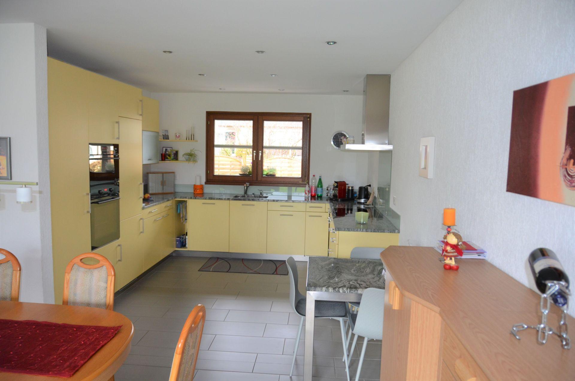offene neue Wohnküche