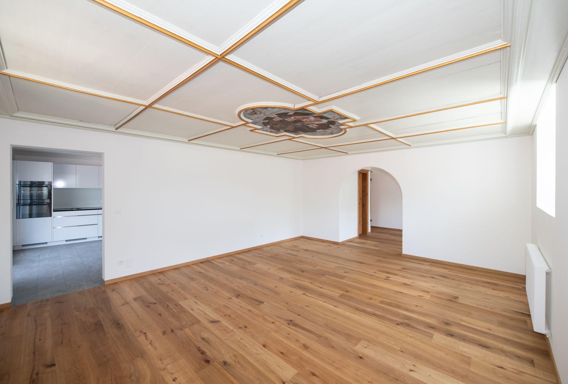Miete: modern Wohnung in einem historischen Haus